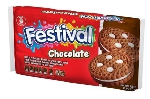 galleta festival chocolate 403gr