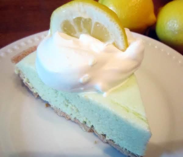 Lighter Fluffy Lemon Lime Pie Recipe