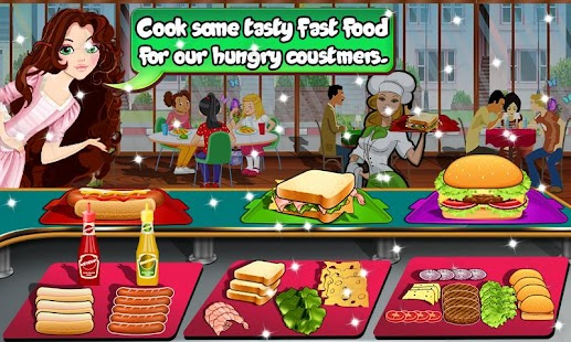 Bakery Manager: Food Cooking Business cashier game - náhled