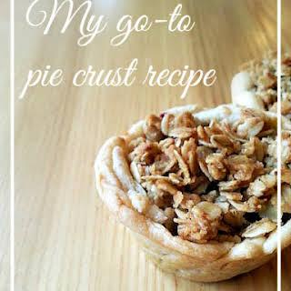 Go-to Pie Crust.