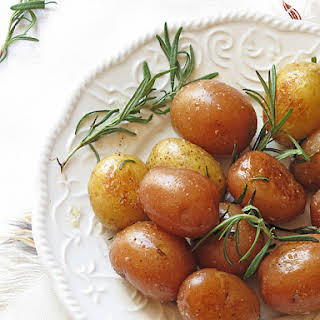 Buttery Rosemary Potatoes.