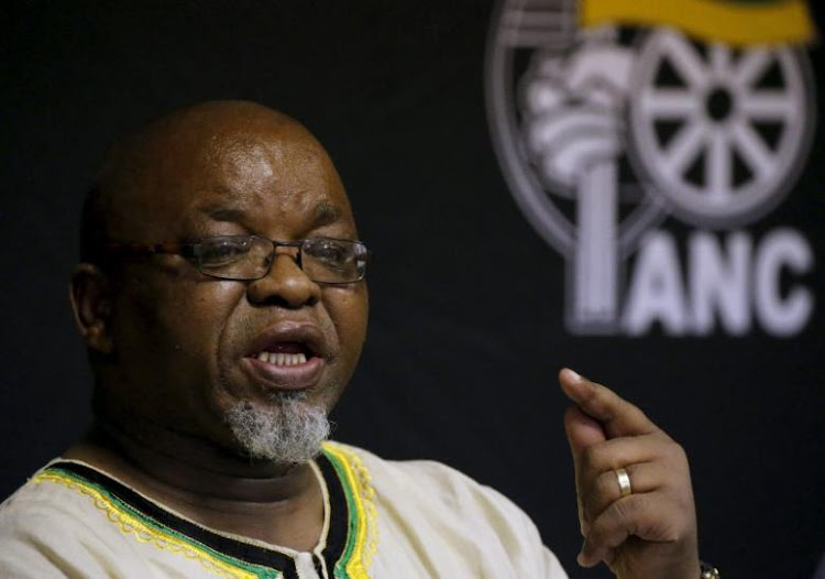 Gwede Mantashe. REUTERS