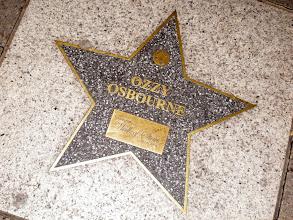 Photo: Ozzy Osbourne - Walk of Stars