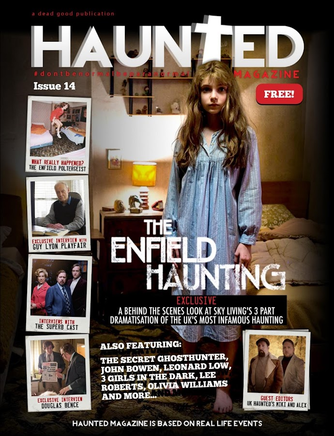 Haunted Magazine- screenshot