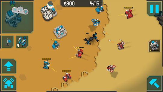 MechCom 3 – 3D RTS Mod Apk Download For Android and Iphone 4