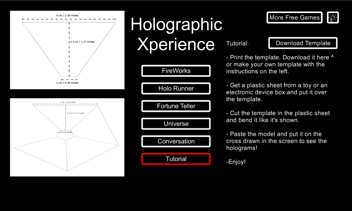 tablet hologram template  Holographic Experience 3D - Android Apps on Google Play