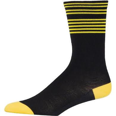 45NRTH Lightweight Sock - Citron Stripes