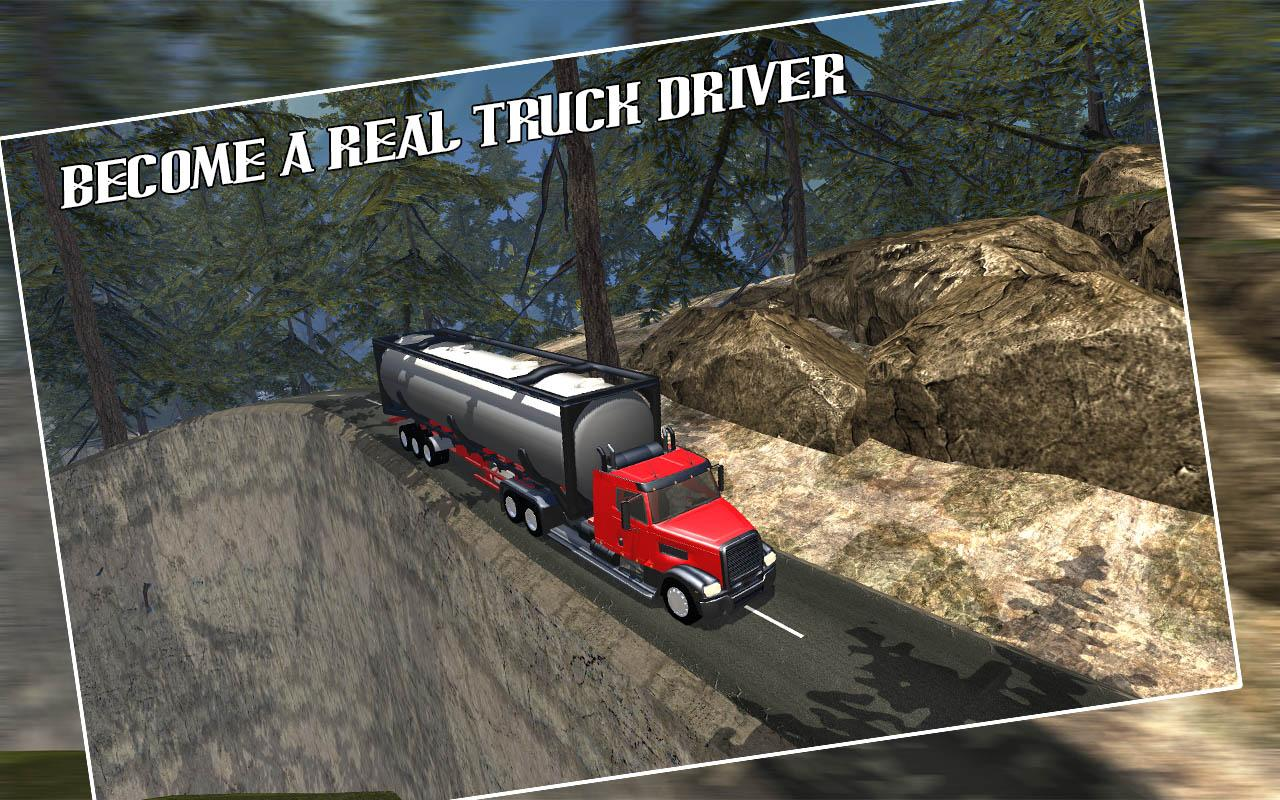 Off Road Oil Tanker Driving- screenshot