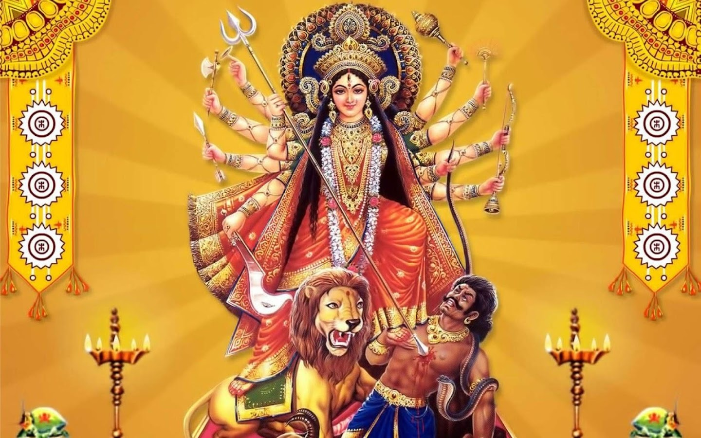 Wallpaper download durga maa - Maa Durga Wallpapers Screenshot