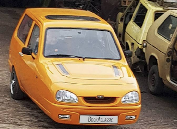 Reliant Robin Hire Mansell Gammage