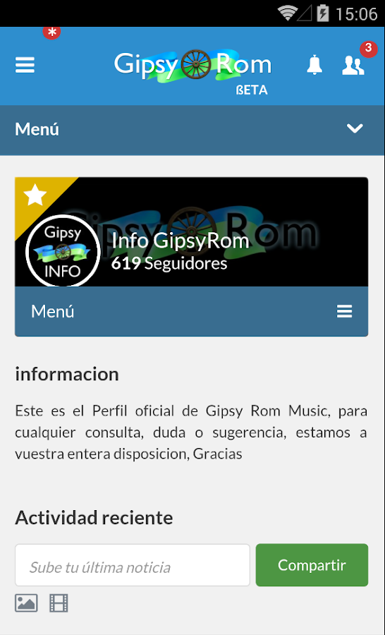 GipsyRom - screenshot