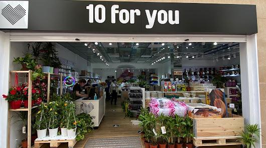 10 for you, una tienda para comprar de todo, al mejor precio