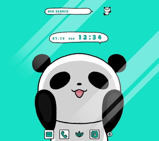 Wallpaper Trapped Panda Theme 1.0.0 Windows u7528 1