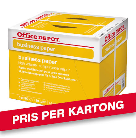 Papper Business A4 5x500/krt