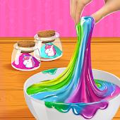 Rainbow Unicorn DIY Slime Making Simulator Mod