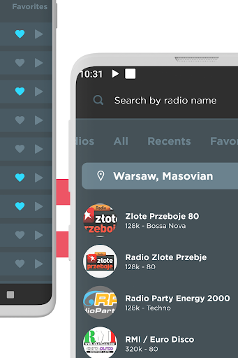 radio poland: free fm radio, internet radio screenshot 3
