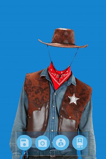 Cowboy Photo Suit Editor