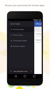 Zoho Creator- screenshot thumbnail