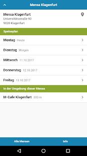 Mensa Klagenfurt - náhled