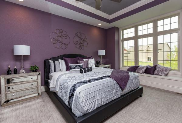 5 tông màu thiết kế cho phòng ngủ lãng mạn 4
