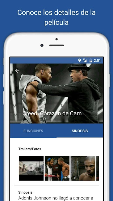 #4. Cine Colombia S.A. (Android)