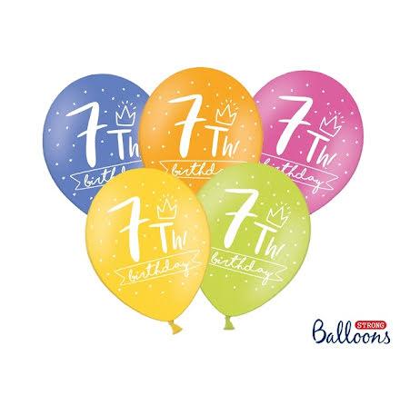 Ballonger 7th birthday