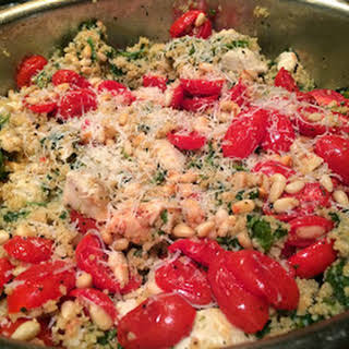 Healthy Chicken and Couscous.