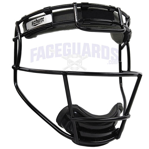 Schutt Pitchers Facemask Solid Black