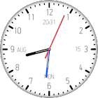 Clock Live Wallpaper by AppMax icon