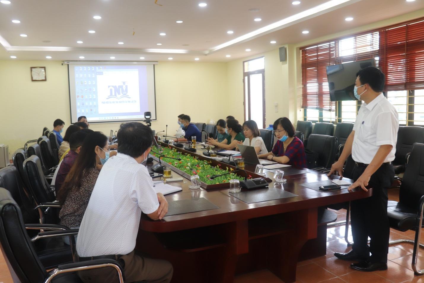 Tổng kết, trao giải Cuộc thi thiết kế logo, slogan  về Phân hiệu Đại học Thái Nguyên tại tỉnh Lào Cai