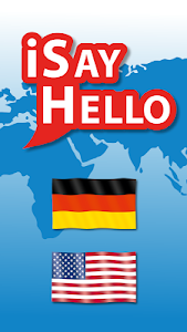iSayHello German - English USA screenshot 0