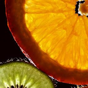 Fresh by Alina Dinu - Food & Drink Fruits & Vegetables ( orange, fruit, fresh, green, food, kiwi, fruits, light,  )