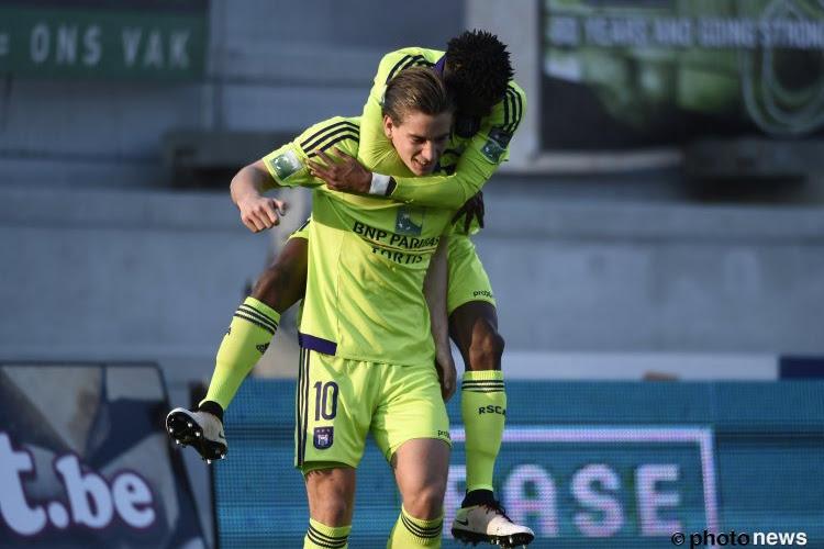 Okaka garde Anderlecht en vie