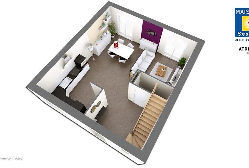 Vente Terrain + Maison - Terrain : 300m² - Maison : 90m² à Champcueil (91750)