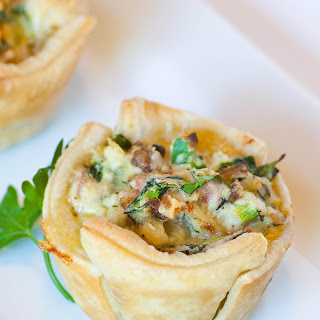 Spinach Ricotta Tarts Recipe