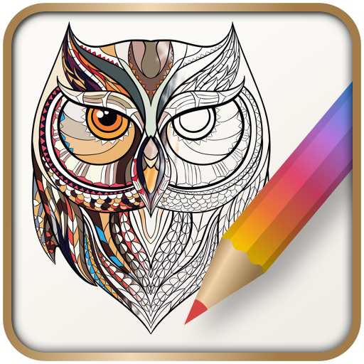Colorfit Coloring book 休閒 LOGO-玩APPs