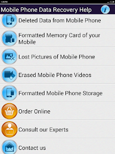 Mobile Phone Data Recovery HLP screenshot 5