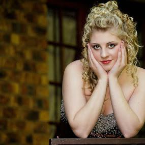 Kayla by Gavin Smith - People Portraits of Women ( blonde, model, event, model shoot, beauty, eyes )