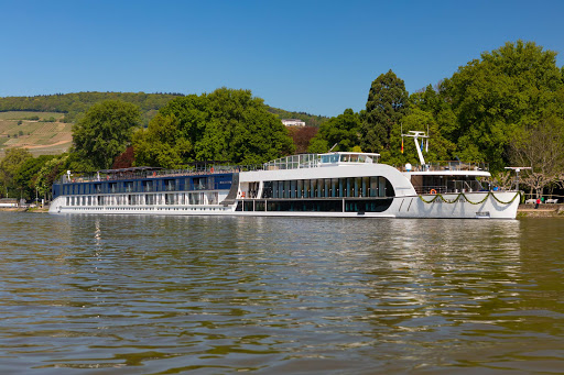 A look at the 158-passenger AmaKristina during a European river sailing.
