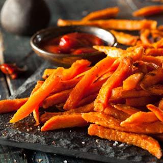 Oven Baked Sweet Potato Fries.