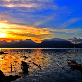 Puerto Princesa Baywalk Park by Teng Formoso - Landscapes Sunsets & Sunrises