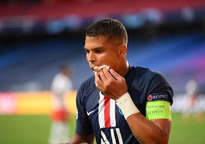 Les adieux de Thiago Silva à Paris