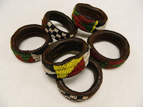 Photo: Old African Bracelets at IObjets D'Art