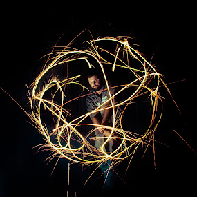 by Sarah King - Abstract Fire & Fireworks (  )