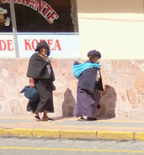 Photo: In the street at Otavalo