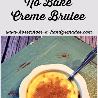 No Bake Creme Brulee.