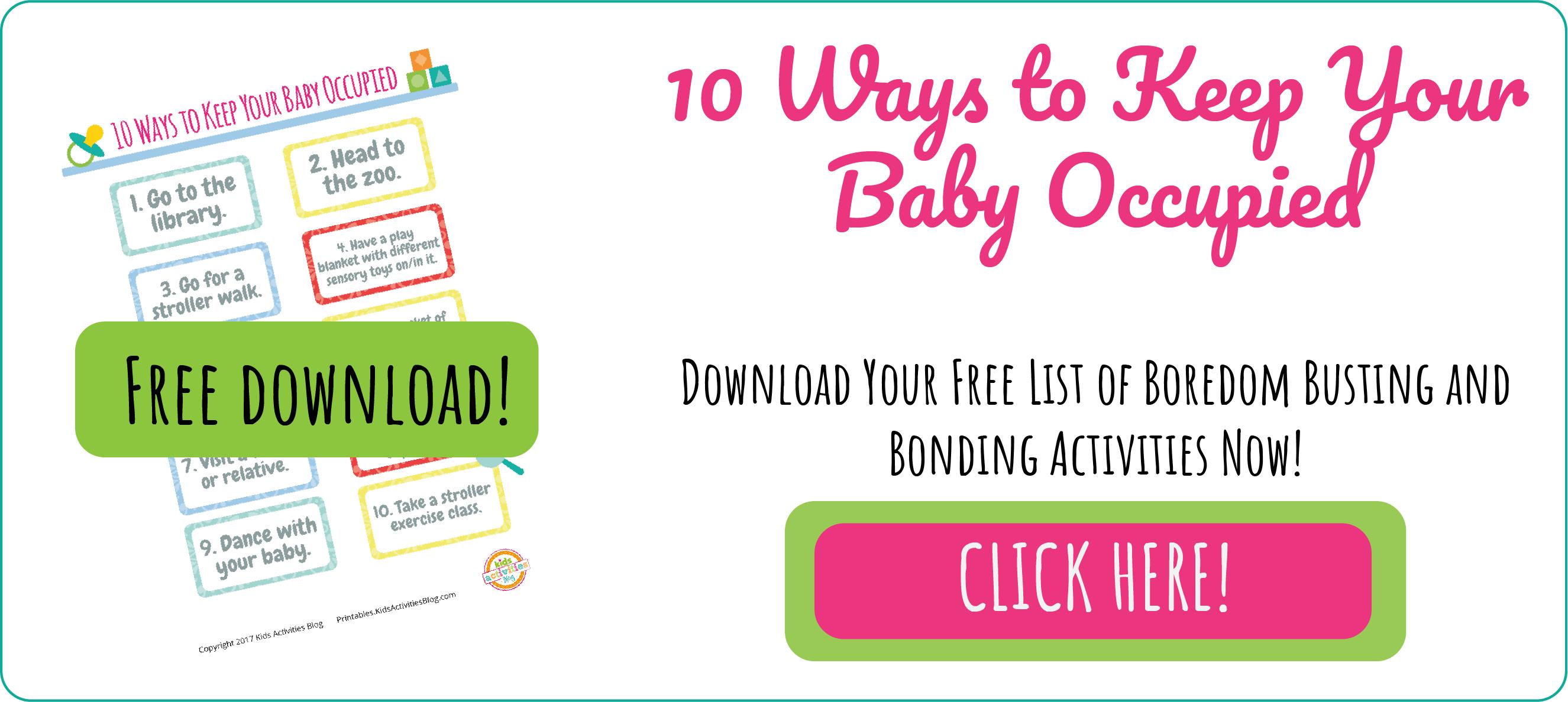 BABY BONDING ACTIVITIES