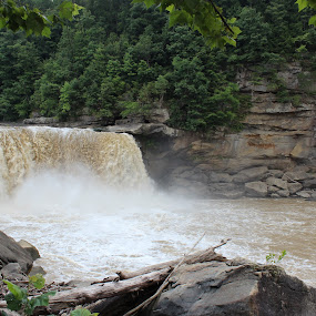 Falls After the Storm by Heather Taulbee McIntyre - Novices Only Landscapes