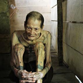 sikerei siberut by Jamani Uyee - People Body Art/Tattoos