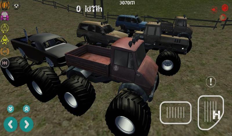 Скриншот Extreme Monster Trucks 3D